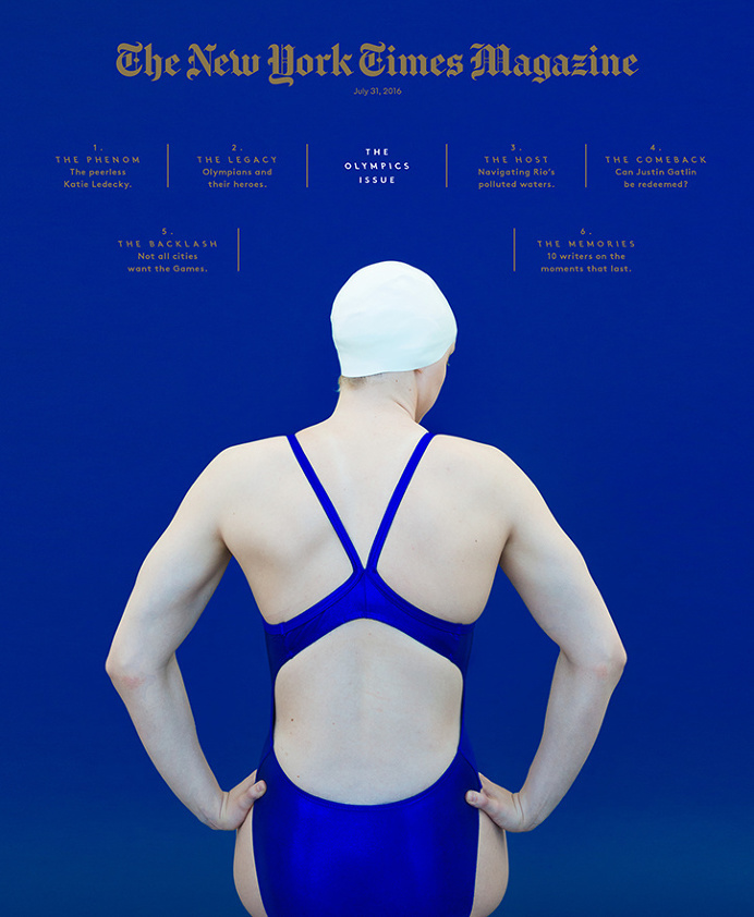 The New York Time Olympics Cover