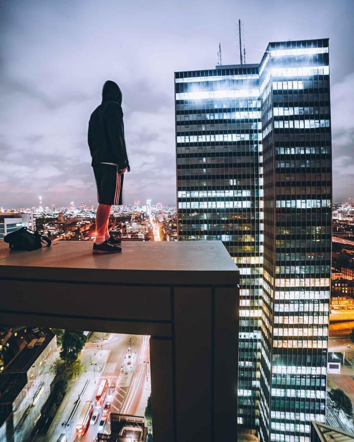 Outstanding Rooftop and Climbing Photography by Harry Gallagher