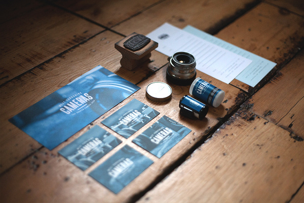 Vintage Camera Independent Store #invoice #branding #wood #slr #vintage #letterhead #business #identity #film #logo #pay #west #camera #shop #independent #yorkshire #lucas #heritage #card #jubb #leeds #lense