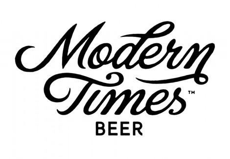 Modern Times Beer Logo #beer #type #script #hand