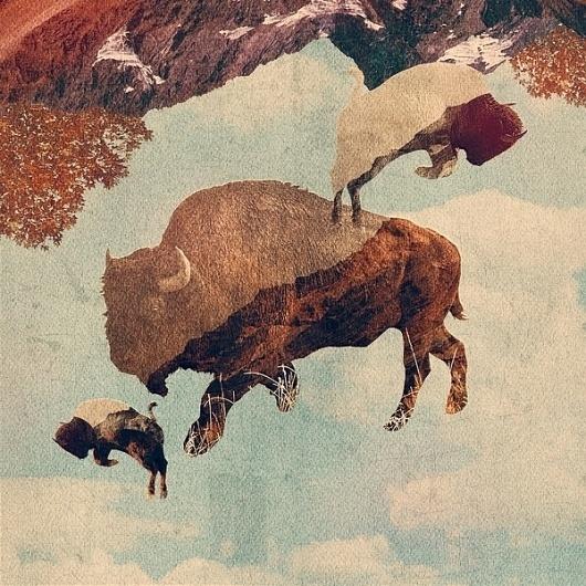 Art #illustration #collage #kessler