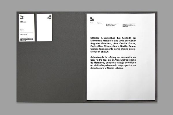 SAVVY STUDIO | Stación-ARquitectura #print #design #stationery