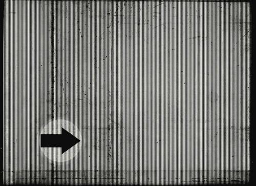 KORUT.Tumblr #photo #blackwhite #arrow