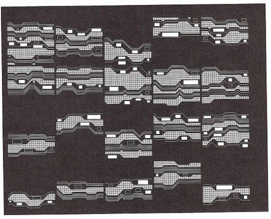 Artist and Computer - MANFRED MOHR #cluster #pattern #manfred #computational #phobia #mohr