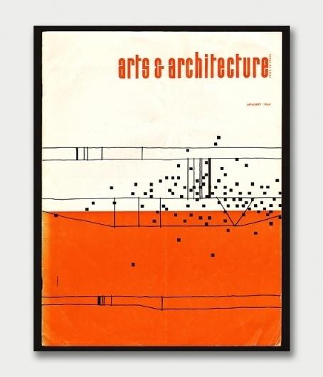 Arts & Architecture Magazine Covers, 1960s. / Aqua-Velvet #desig #print #design #architecture #art #sixties #1960 #magazine