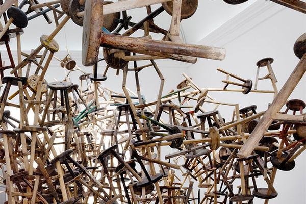 CJWHO ™ (Ai Weiwei's Bang Installation at Venice Art...) #weiwei #installation #2013 #design #venice #art #ai #biennale #bang