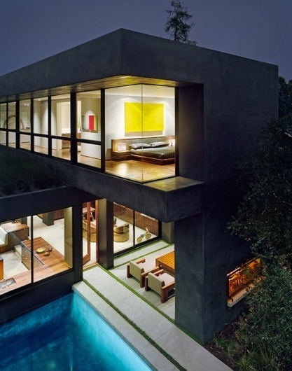 Vienna Way Residence by Marmol Radziner | Daily Icon #modernism #vienna #house