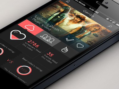 Screen Concept App Design #ui