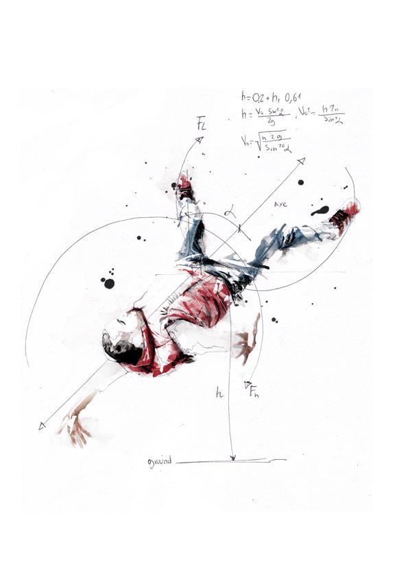 Break Dance - Volnorez #illustration
