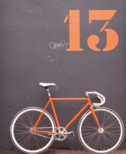 tokyo-bleep #thirteen #orange #bike