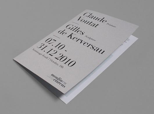 NEO NEO | Graphic Design | Moulin en Clarens #brochure
