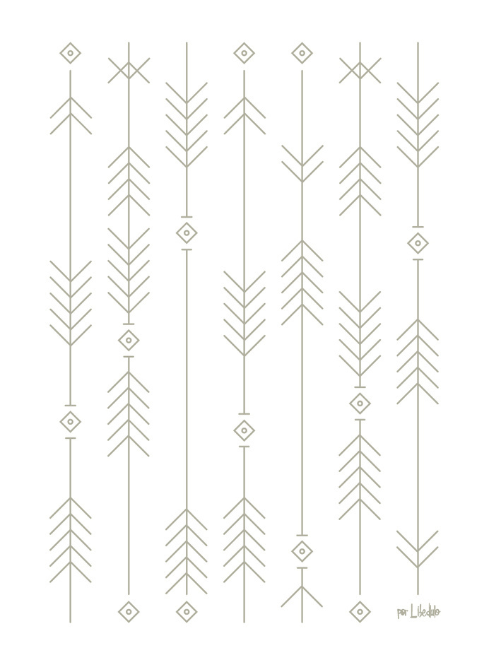 espigas #illustration #pattern #poster