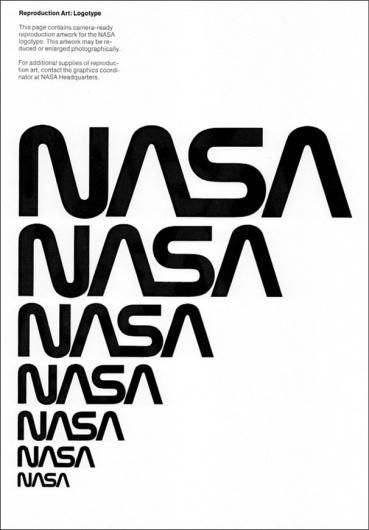 NASA 1976 Identity Guidelines | #design #graphic #branding #typography