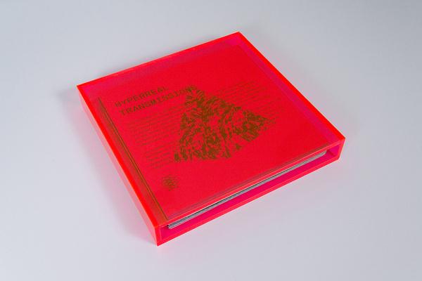 Hyperreal Transmissions Brian Biles — Form Design Studio — Graphic Design, Typography, & Art Direction #acrilico #neon