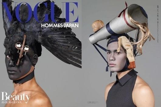 NICOLA FORMICHETTI   VOGUE HOMMES JAPAN WILLIAM SELDEN SEP 08