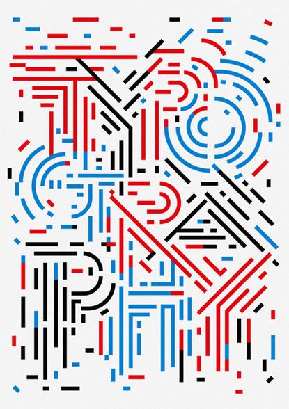 T Y P O G R A P H Y #typography #texture #line