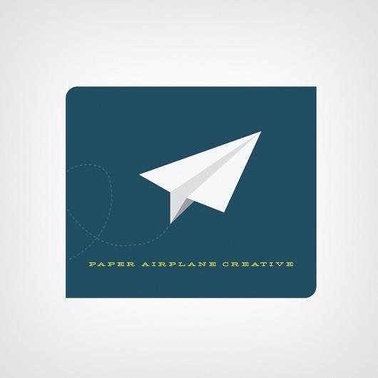 Brad Jendza - Krop Creative Database #creative #paper #airplane
