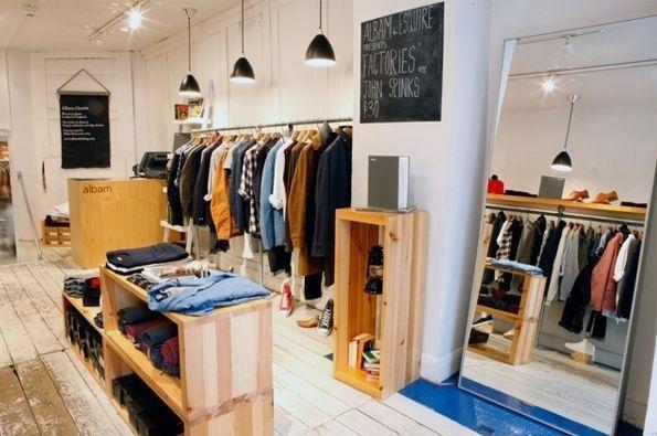 Albam Soho 23, Beak Street #interior #retail #design #space #store #concept #hipshops
