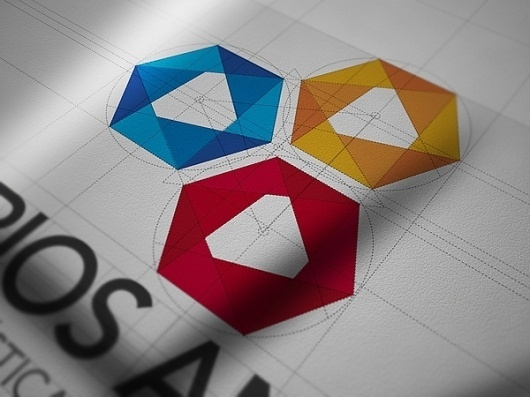 Seminarios Andinos Identity System on the Behance Network #logo #branding #stationary #corporat