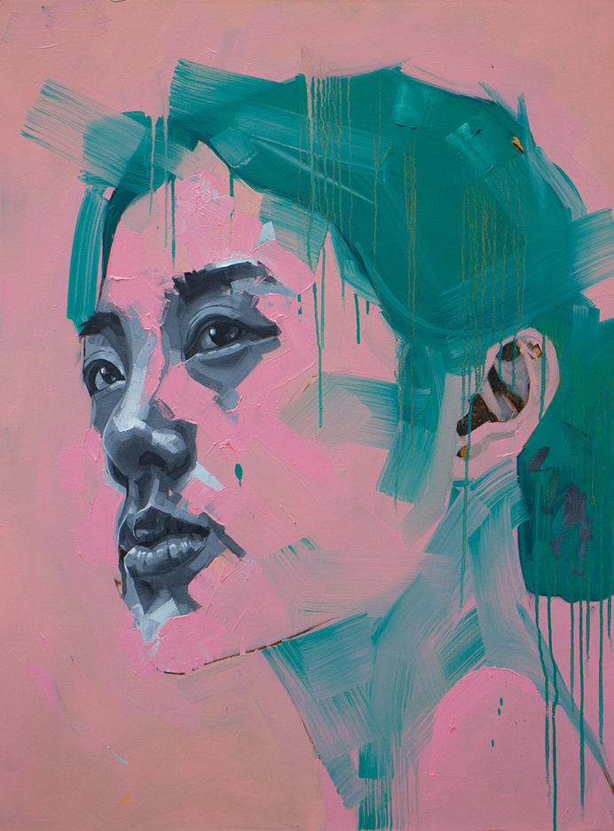 Cheung Nam #art #painting #portrait