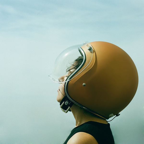 large (3) #lady #helmet #photography #motorcycle