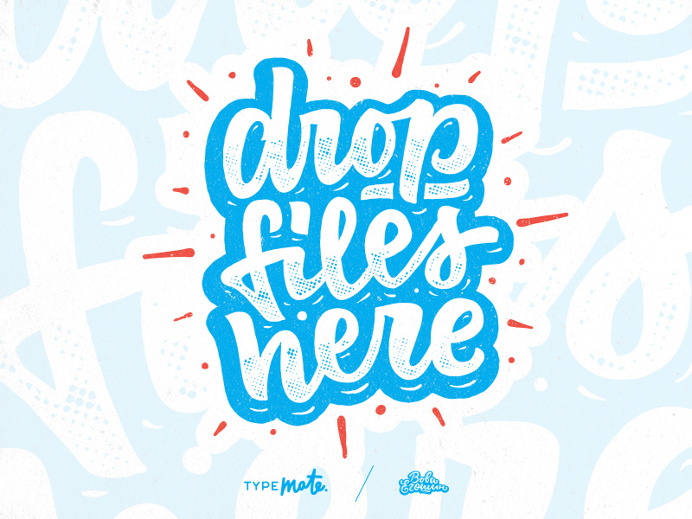 Drop files here!