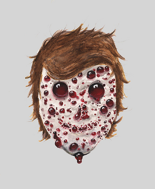 by david whi†e #blood #creep #fungus