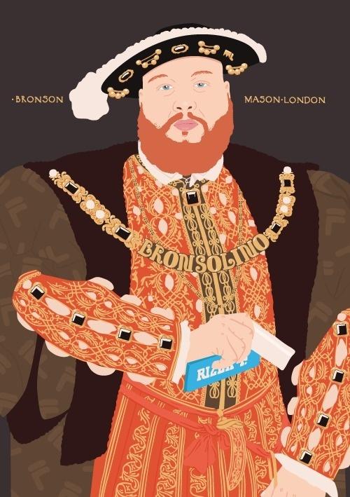 Action Bronson as Henry VIII #mason #london #viii #bronson #henry #action