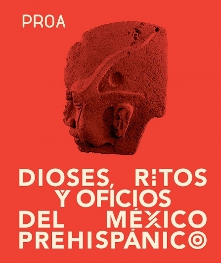 Spin — Proa Mexico Exhibition #design #exhibition #spin #poster #typography