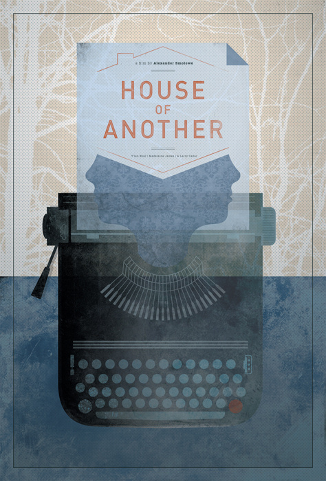 House Of Another — Poster - Joy Stain #movie #noa #illustration #stain #poster #joy #typewriter #emberson
