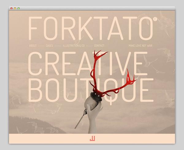 Forktato #website #layout #design #web
