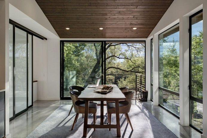 Home Office Addition: Creekbluff Studio by Matt Fajkus Architecture 6