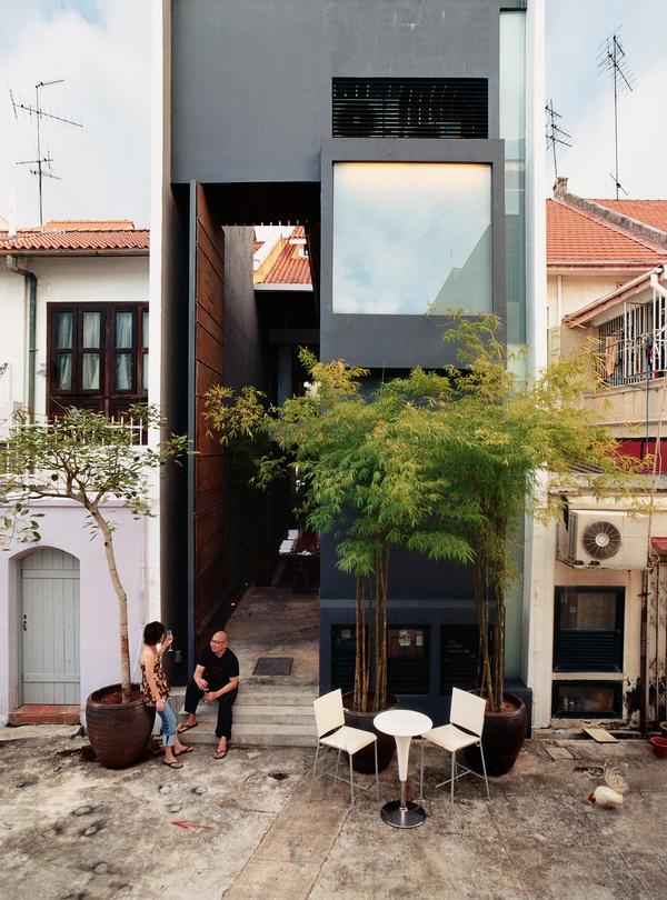ching ian yang yeo house backyard patio #designbackyard #architecture