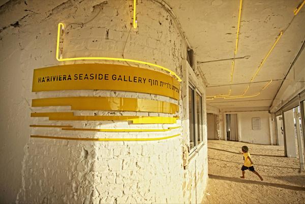 derman verbakel architecture: riviera seaside art gallery #neon