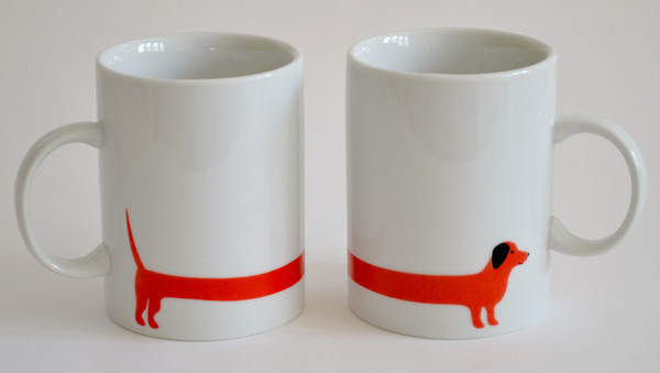 red dog 2 mug set #design #mug #ceramic #cup #dog