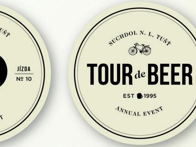 Tour de Beer Mat #beer #tour #retro #mat #coaster