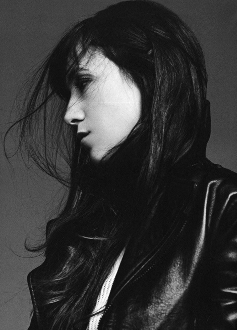 Charlotte Gainsbourg by Karim Sadli #model #girl #photography #portrait #fashion