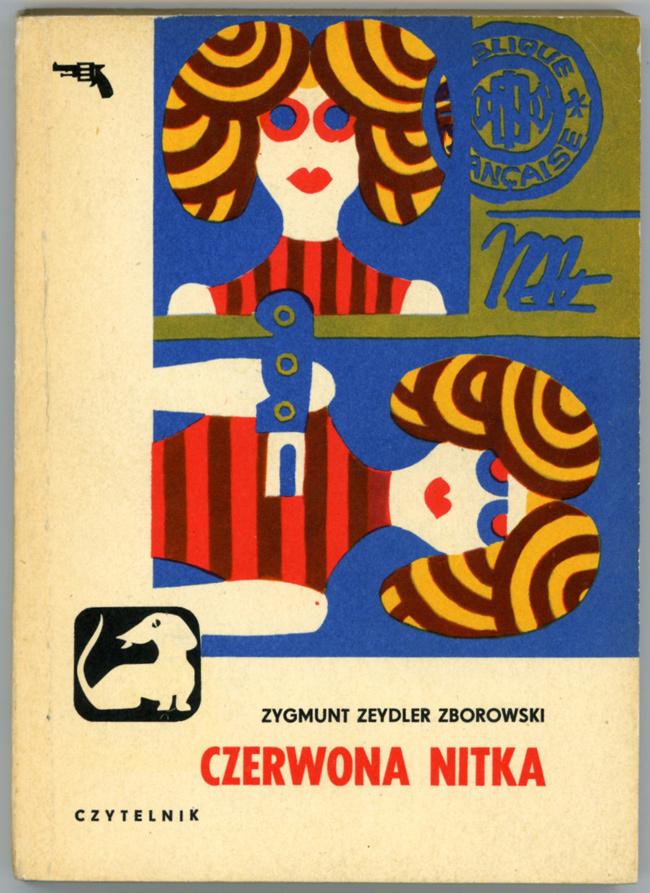 Baba-Jaga Gubi Trop: Crime Novel Covers from Poland - 50 Watts #cover #criminal #book #poland