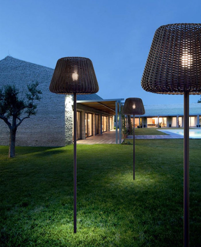 Rattan Lamp by Team Design