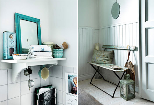 jonas ingerstedt photography blue bath #interior #design #decor #deco #decoration