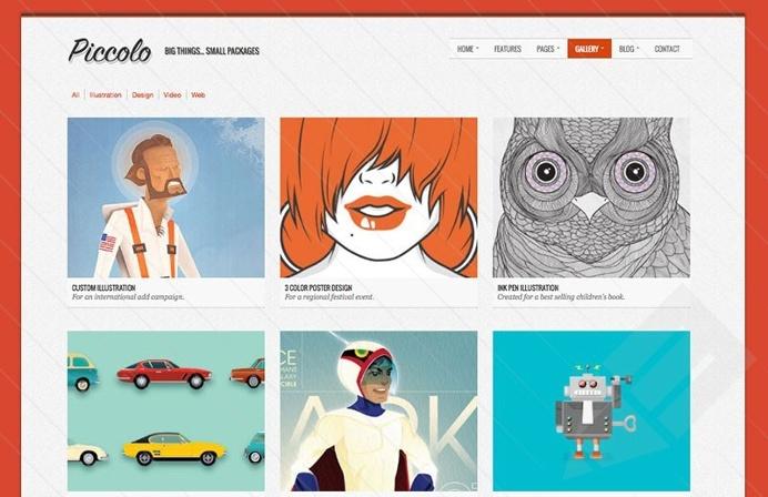 Piccolo : Free Portfolio Bootstrap Template