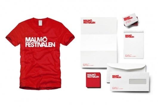 SNASK – Designing Brands & Lifestyles #malmfestivalen #red #stationary #snask #identity