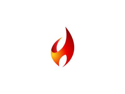 #hot#flame#fire#pharma#logo#h#orange#red