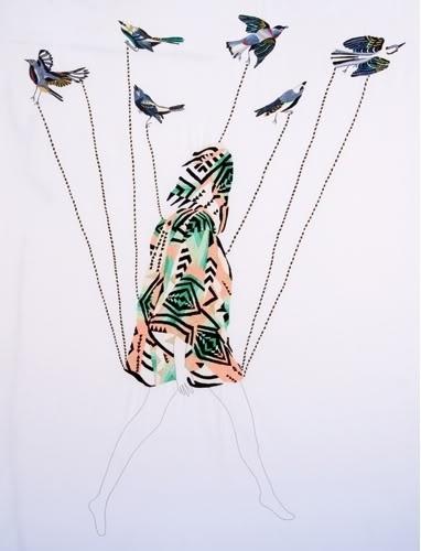 design lust: Jazmín Berakha #fashion #illustration #pattern #embroidery
