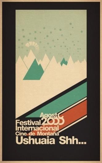 [rafdevis] - Ushuaia Shh #lorente #horacio #ushuaia #poster
