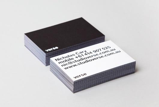 Losko · Verse #card #blackwhite #business #verse
