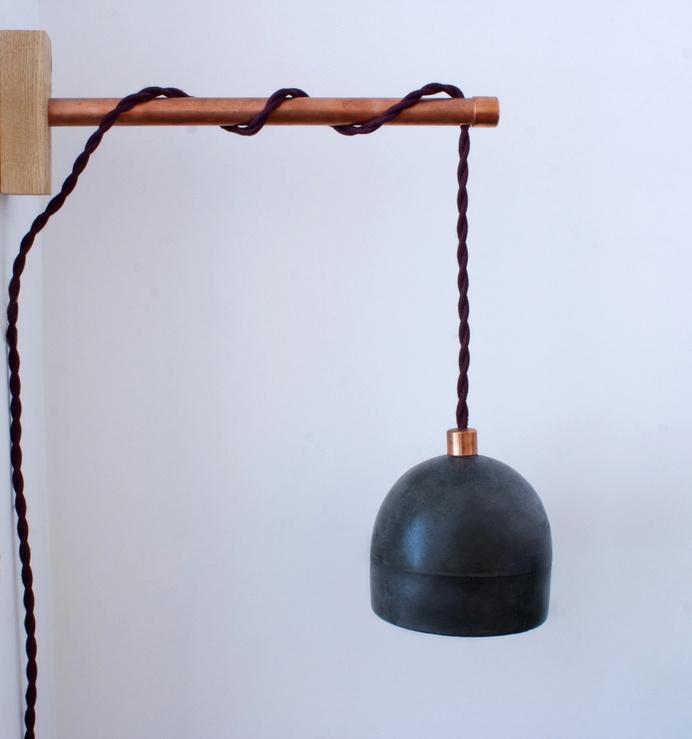 concrete-lamp.jpg #light #lamp #concrete #copper #industrial #design #pendant #interior #light #lamp #concrete #copper #industrial #design #