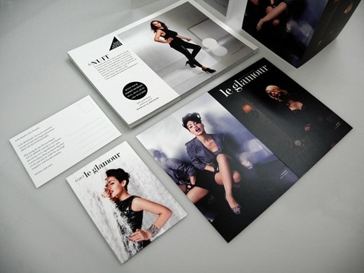 LE GLAMOUR print design #print #awesome