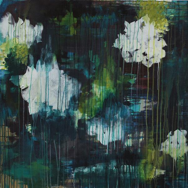 After the Rain // Megan Auman painting #rain #design #decor #painting