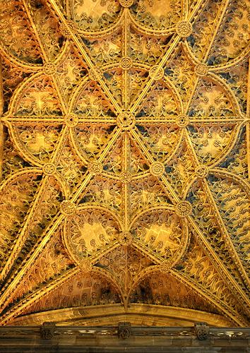 Pattern Style #gold #architecture #golden #pattern
